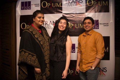 Bushra, Yasmeen and Babar